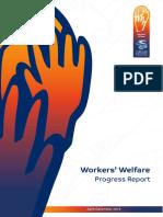 Workers Welfare Progress Report Apr-Dec 2015