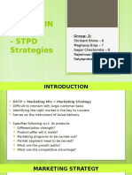 Marketing Strategy- STPD