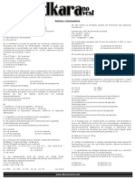 Lista - Química Termoquímica