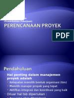 Perencanaan dalam Proyek