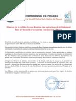 Communiqué de Presse DSCGR Du 10 02 2016 Opérations de Déblaiement-2