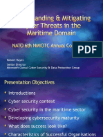 Understanding & Mitigating Cyber Threats in the Maritime Domain - NATO NMIOTC June 2015