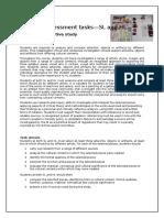 comparative study external assessment tasks