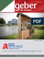 Ratgeber aus Ihrer City-Apotheke – Februar 2016