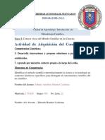 Actividad de Adquisición Etapa 1 Metodologia