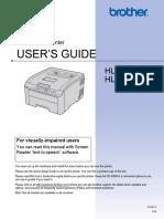 Brother Hl3040cn manual