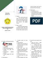 Leaflet Demam Typoid