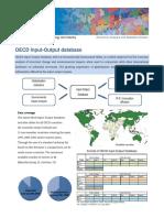 OECD Input-Output database