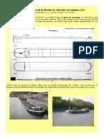 """""""En passant du rail au fluvial"""" (1/2) Une péniche Frecynet. Modélisme à l'échelle du H0.Par H.leclere"""