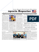 February 10 - 16, 2016  Sports Reporter