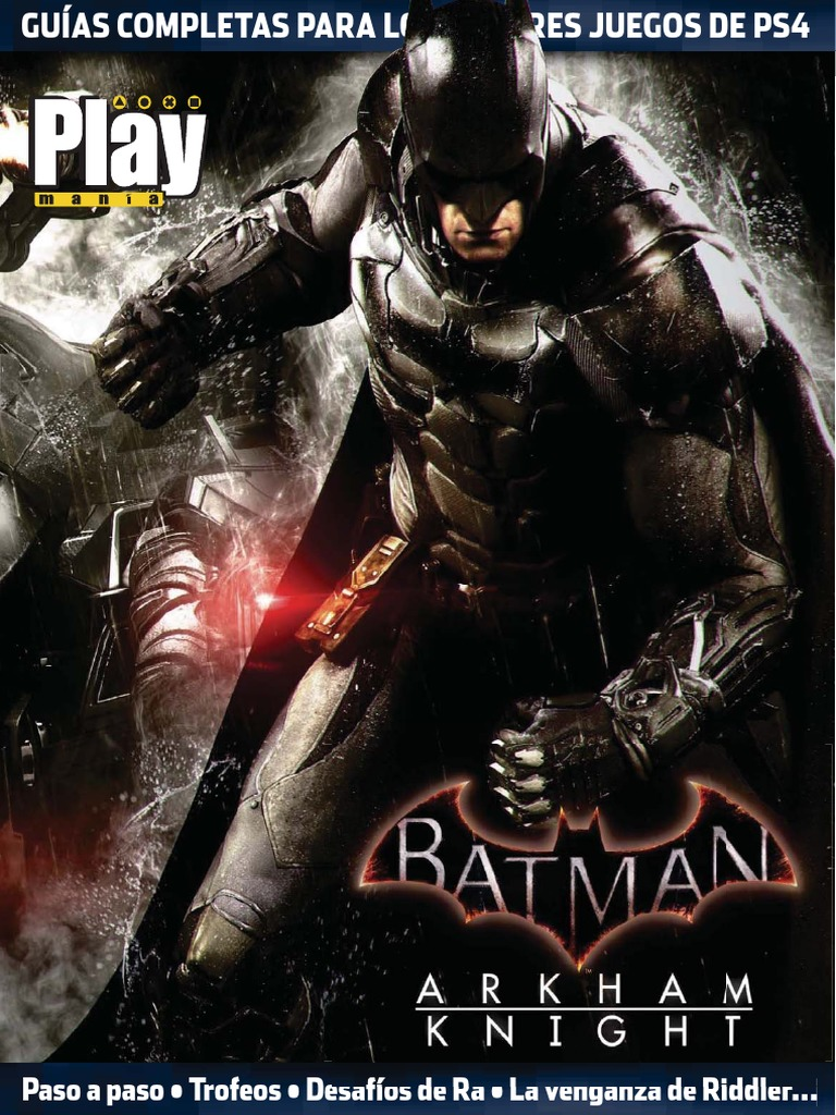 Playmanía Guía Batman Arkham Knight Ps4