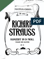 R. Strauss Violin concerto
