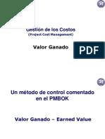 CEAP PyC 5d - Para VER 8-07-14 Clase 9 Valor Ganado