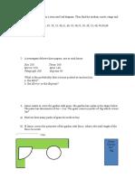 KS3 Maths Quiz Number Statistics