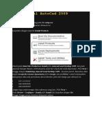 Cara Instal AutoCad 2009