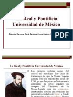 La Real y Pontificia Universidad de México