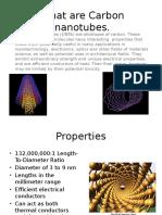 carbon nanotubes.pptx