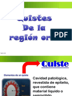 Quistes de region oral