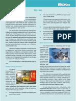 RDSO Testing Brochure
