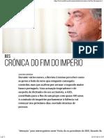 Crónica Do Fim Do Império - PÚBLICO