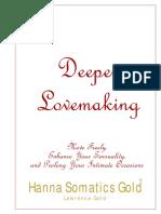 Deeper Lovemaking