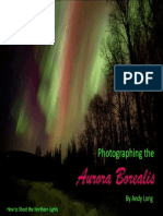 Photographing the Aurora Borera - Andy Long