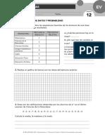 evaluación matemáticas anaya u12
