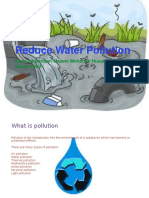 reduce water pollution