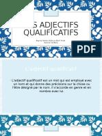 Les Adjectifs Qualificatifs