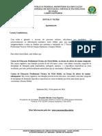 Edital Processo Seletivo IFPA Santarém