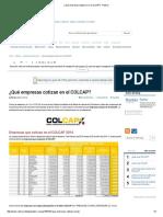 ¿Qué empresas cotizan en el COLCAP_ - Rankia.pdf