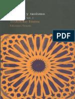 Izutsu Toshihiko Sufismo y Taoismo Vol i Ibn Arabi