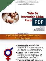 """Taller de Información Básica Psicosexual"" UBA SEV"