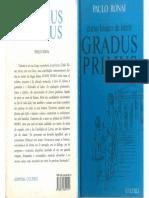 Gradus Primus Paulo Ronai