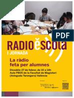 I Jornada RadioEscola 2016