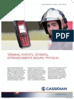 Radio 500017CB05A00 Datasheet TPH700Ex ES