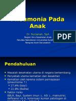 Pneumonia Pada Anak-dr. Nurjanah, Sp.A