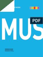 Guía Nacional de Museos. Secretaría de Cultura de la Nación. Año 2009. 2a. edición