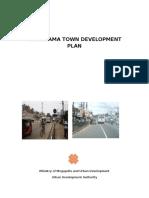 HOMAGAMA TOWN DEVELOPMENT PLAN
