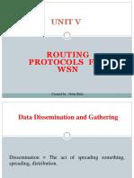 Ruting Protocol for Wsn