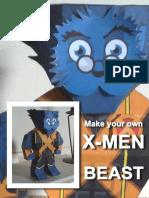 Faça seu próprio superheroi - Beast