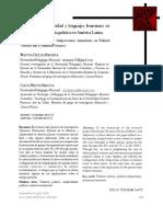 Testimonio, subjetividad y lenguajes femeninos en contextos de violencia política en América Latina