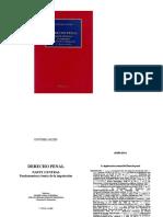Jakobs, Gunther - Legitimacion Material Del Derecho Penal