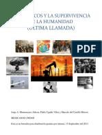 Energéticos y la supervivencia de la humanidad