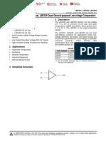 LMV331,LMV393,LMV339 Comparators - Datasheet