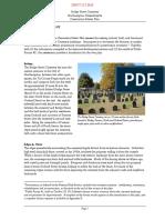 Bridge Street Cemetery preservation master plan