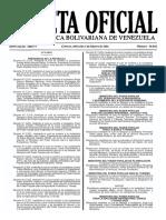 Gaceta Oficial Número 40.842 - Notilogía