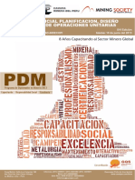 Mineria Superficial Planificacion, Diseño y Optimizacion de Operaciones Unitarias