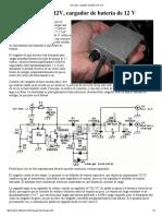 12V Solar, Cargador de Batería de 12 V