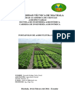 Proyecto de Agricultura